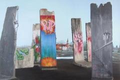 Mauerteile in Teltow