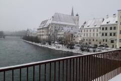 Steyr im Schnee