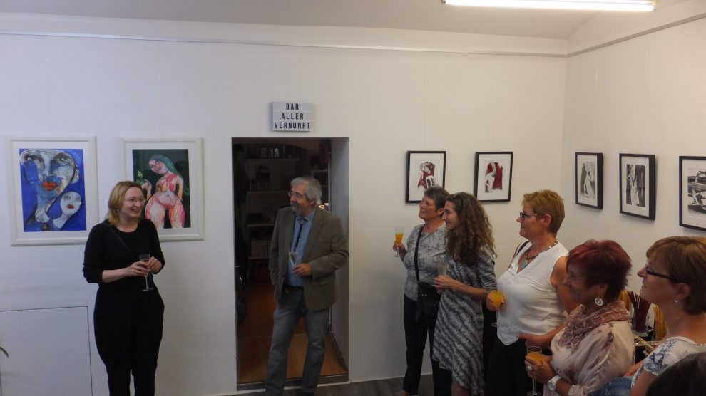 14.07.2018 – Vernissage Oxana Mahnac