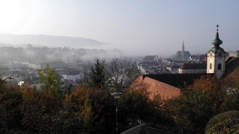 Herbstimpressionen aus Steyr