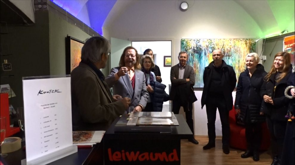 26.11.2017 – Vernissage Manfred Koutek